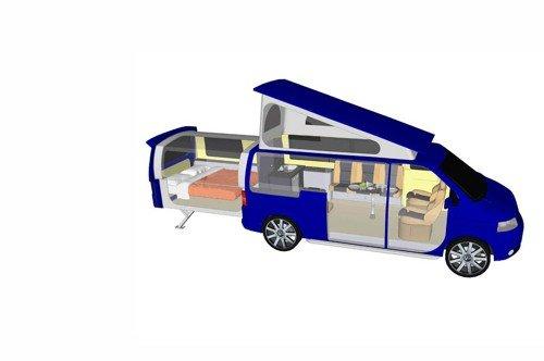 VW Doubleback Campervan