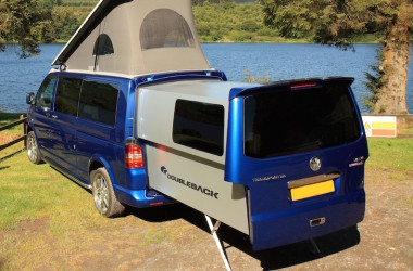This Brazen Volkswagen Doubleback Campervan Is Built From Aircraft-Grade Components