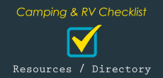 Camping and RV Checklist: Resource and Directory