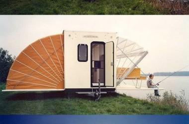 unique slideouts on this camper