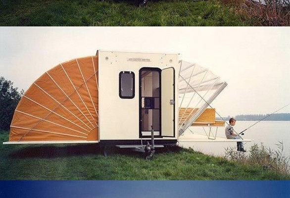unique slideouts on this camper