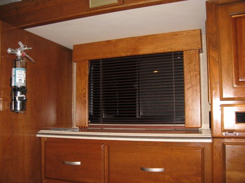 Custom Rv Shade Valence Window Treatments Monaco Executive