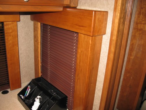 Custom RV Shade Valence Window Treatments – Monaco Executive