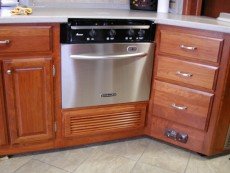 Dishwasher and Cooktop RV Mods Stove Oven to Dishwasher