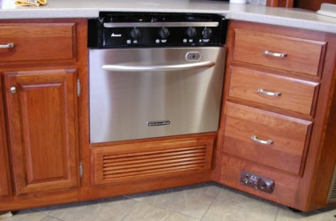 RV Mods: Stove-Oven to Dishwasher Conversion
