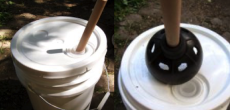 Homemade washing machine