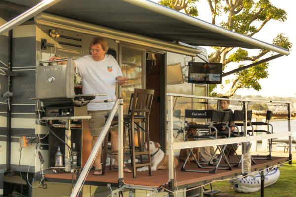 The Answer To A Truly Portable RV Deck Or Patio