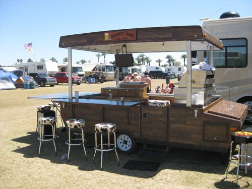 RV Kitchen Trailer 2