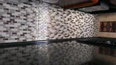 RV Kitchen backsplash