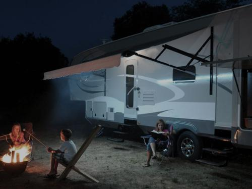 Custom RV Awning Lights with Wireless On/Off Switch