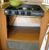 RV Mods Stove Oven to Dishwasher 2