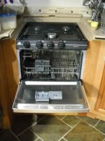 RV Mods Stove Oven to Dishwasher 4