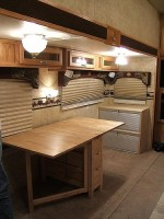 RV Office Conversion After