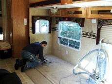 RV Office Conversion before