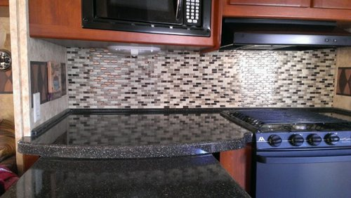 Smart Tiles Self Adhesive Kitchen Tile