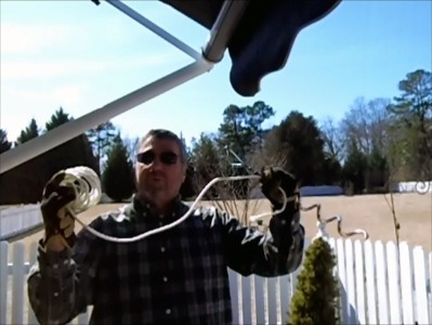 Danny D RV Tips: Simple RV Awning Tie Down