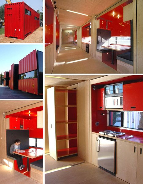 40 Foot Shipping Container Home With 8 Pop Outs
