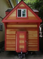 Tiny house trailer rv house 13