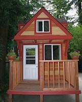 Tiny house trailer rv house 2