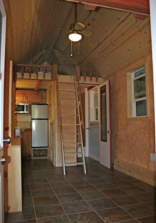 interior tiny house trailer rv house gallery
