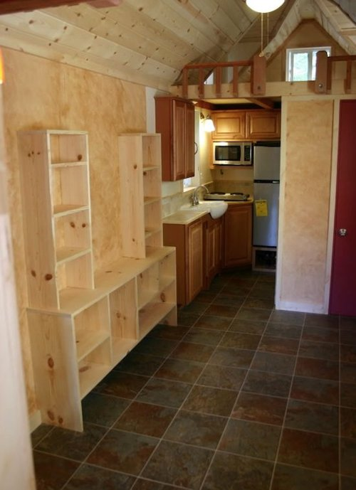 Interior: Tiny House Trailer RV House Gallery