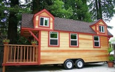 Tiny house trailer rv house 6