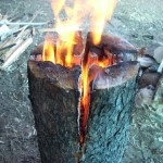 Simple Wood Log Stove: The Laplander Stove