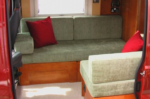 DIY RV Sofa Bed Designed by Ian and Mad Mumsie