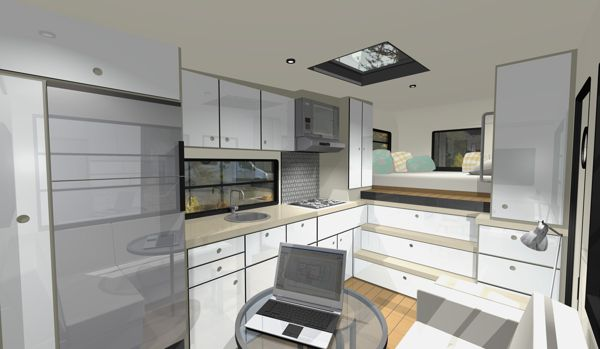 Custom Rv Designs A Residential Architect Tackles A New Obsession