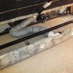 RV Heating Mod: Unused Furnace Duct Redirected to Keep Your Feet Warm