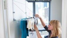 RV Laundry Rack Slimline 4