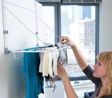 RV Laundry Rack: The Compact Slimline from Quirky