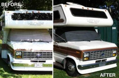 Put New Life into Dated RV Windshield Covers