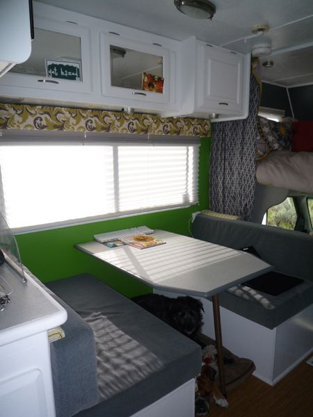 RV renovation Jayco Designer After 6
