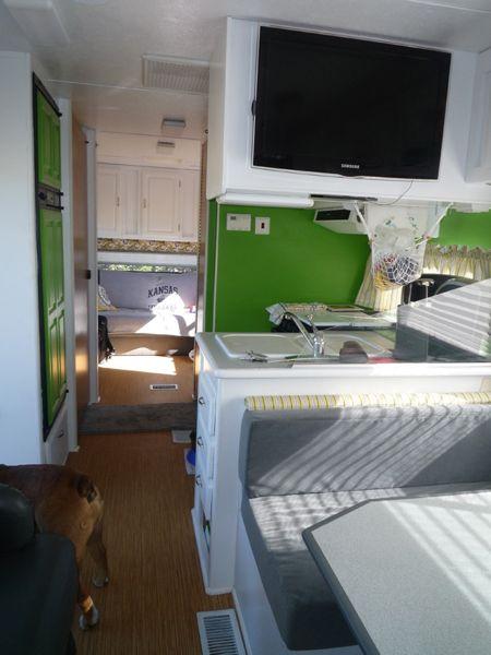 Interior Rv Renovation On A 1999 Jayco Designer Class C
