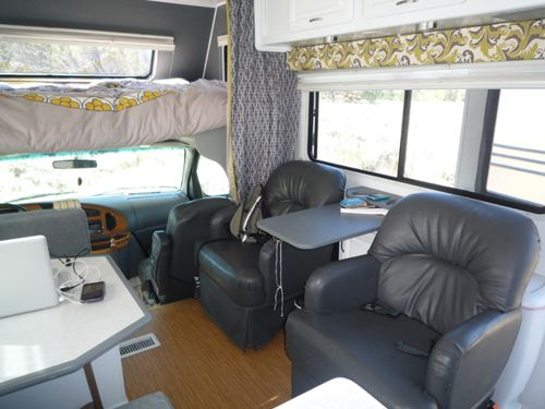 RV renovation Jayco Designer After 8