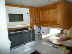 RV renovation Jayco Designer Before 2