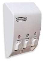 RV shower soap dispenser