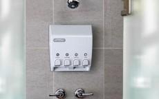 RV shower soap dispenser 2