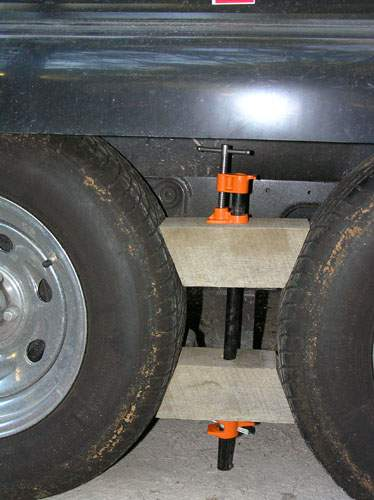Custom Made RV Wheel Chocks Photos: