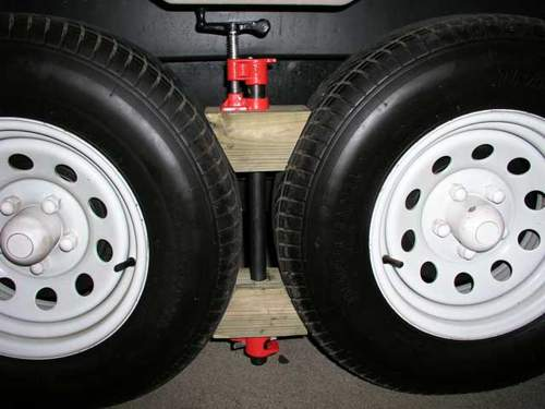 Trailer Wheel Chocks >> Custom Made Rv Wheel Chocks For Tandem Wheels
