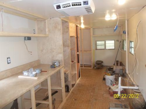 Great They Then Began To Rebuild The Infrastructure Of Their Transforming Travel  Trailer. They Reinforced Tire Wells, Walls, Rebuilt The Kitchen Cabinets,  ...