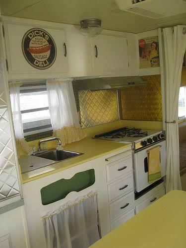 Vintage rv restored 1971 layton travel trailer - Ft achi modular home diy for sale only ...