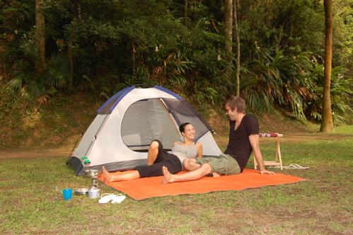 Camping Mat And Outdoor Rug Fight Dirt With Clever Engineering From Cgear