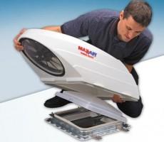Maxx Air Turbo Maxx Power Roof RV Fan and Vent Installation