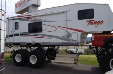 Funny RV: Every Monster Truck Deserves A Monster RV