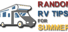 8 Random RV Tips for Summer Fun in the Sun
