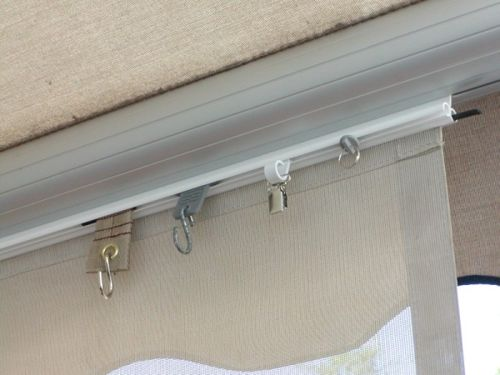 Twin Trak RV Awning Accessory: The Easy Way for Sunscreen ...