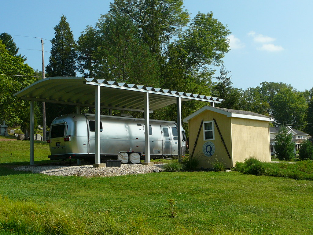 Photo by SteelMaster Metal RV Carport
