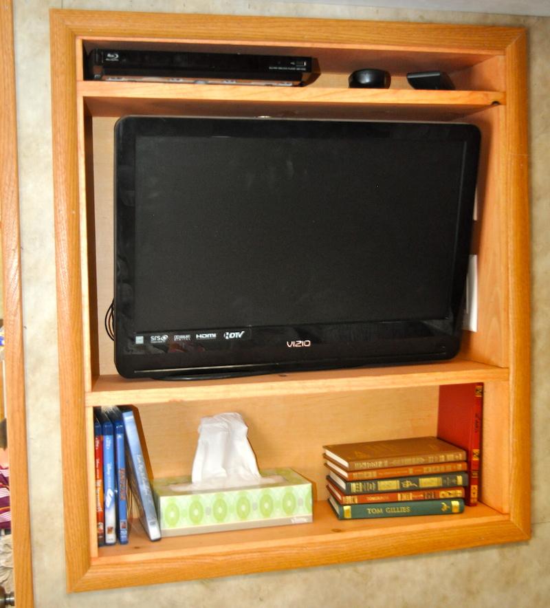 New TV frame for the Ticknor family